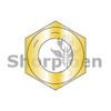 3/8-16  Coarse Thread Hex Nut Grade 8 Domestic Zinc Yellow DFAR (Box Qty 3000)  BC-37NF8D