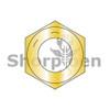 1/4-28  Fine Thread Hex Nut Grade 8 Domestic Zinc Yellow DFAR (Box Qty 5000)  BC-15NF8D