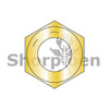 5/16-24  Fine Thread Hex Nut Grade 8 Domestic Zinc Yellow DFAR (Box Qty 3000)  BC-32NF8D
