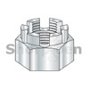 5/8-18  Castle Nut Zinc (Box Qty 150)  BC-63NHC