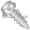 1/4-14X1  Unslotted Ind Hex washer 7/16 A/F Self Tap Screw Type AB F/T 18 8 Stainless (Box Qty 1000)  BC-141607ABW188