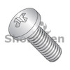 M1.6-0.35X12  Din 7985 A Metric Phillips Pan Machine Screw Full Thread A2 Stainless Steel (Box Qty 6000)  BC-M1.612MPP188