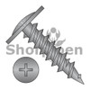 8X1 7/8  Phillips Modified Truss Head Fine Thread Drywall Screw Fully Threaded Black Ox (Box Qty 2000)  BC-0830YPMB
