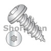 4-24X1/4  6 lobe Pan Self Tapping Screw Type AB Fully Threaded 18-8 Stainless Steel (Box Qty 5000)  BC-0404ABTP188
