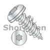6-18X3/8  6 Lobe Pan Self Tapping Screw Type A Fully Threaded Zinc And Bake (Box Qty 10000)  BC-0606ATP