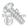 2-32X1/4  6 Lobe Pan Self Tapping Screw Type B Fully Threaded Zinc and Bake (Box Qty 10000)  BC-0204BTP