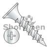 6X1 1/4  Phillips Recess Bugle Head Coarse Thread Drywall Screw Particle Board Zinc (Box Qty 8000)  BC-0620CPGZ