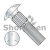1/4-20X3/4  Ribbed Neck Carriage Bolt Grade 5 Fully Threaded Zinc (Box Qty 2550)  BC-1412CR5