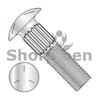 1/4-20X1 3/4  Ribbed Neck Carriage Bolt Grade 5 Fully Threaded Zinc (Box Qty 1250)  BC-1428CR5