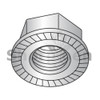 M5-0.8  Din 6923 Metric Hex Flange Nut Serrated A2 Stainless Steel (Box Qty 2500)  BC-M5D6923RA2