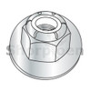 M6-1.0  Din6926/ISO7043 Metric class 8 Prevail Torque Nylon Insert Hex Flange Lock Nut Z (Box Qty 2000)  BC-M6D6926-8