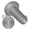 M4-0.7X8  Din 7500 C Metric Type Z Pan Thread Rolling Screw Full Thread Black Zinc Bake Wax (Box Qty 700)  BC-M48D7500CBZ