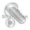 M2-0.4X12  Din 7500 C E Pan 6 Lobe Recess Thread Rolling Screw Full Thread Zinc Bake Wax (Box Qty 4000)  BC-M212D7500T