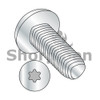 M2-0.4X4  Din 7500 C E Pan 6 Lobe Recess Thread Rolling Screw Full Thread Zinc Bake Wax (Box Qty 4000)  BC-M24D7500T