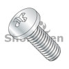 M1.6-0.35X12  Din 7985 A  Metric Phillips Pan Machine Screw Full Thread Class 4.8 Zinc (Box Qty 8000)  BC-M1.612D7985A
