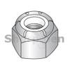 M2.5-0.45  Din 985 Metric Nylon Insert Hex Locknut 18 8 Stainless Steel (Box Qty 5000)  BC-M2.5D985188