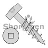 7-12X1 1/2  Square Modified Pan Pocket Hole Face Frame Coarse Long Type17 Partial Threaded Plain (Box Qty 8000)  BC-0724DFQM17LP