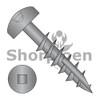 6-9X1 1/4  Square Pan #7 Head Face Frame Screw Type 17 Coarse Partial Thread Black Oxide (Box Qty 7000)  BC-0620DFQP17B