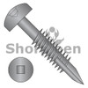 6-20X1 1/4  Square Pan #7Head Face Frame Screw Type17 Fine Thread Partial Thread Black Oxide (Box Qty 7000)  BC-06F20DFQP17B