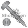 6-20X1 1/2  Square Pan #7Head Face Frame Screw Type17 Fine Thread Partial Thread Black Oxide (Box Qty 6000)  BC-06F24DFQP17B