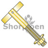 1/4X2 1/2  T Anchor Zinc Yellow (Box Qty 100)  BC-1440ATY