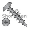 8-11X1  Phillips Truss Deep Thread Wood Screw Full Thread Black Oxide (Box Qty 6000)  BC-0816DPTDB