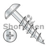 8-11X1 1/8  Phillips Truss Deep Thread Wood Screw 2/3 Thread Zinc Bake (Box Qty 5500)  BC-0818DPTD