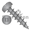 6-13X3/8  Square Drive Pan Deep Thread Wood Screw Full Thread Black Oxide (Box Qty 10000)  BC-0606DQPDB