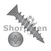 6X1  Square Phillips Drive Flat Head no Nibs Deep Thread Wood Screw Full Threaded Black Ox (Box Qty 11000)  BC-0616DXFDB