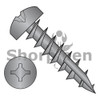 6-13X3/4  Square Phil Drive Pan Deep Thread Wood Screw Full Thread Type 17 Black Oxide Oil (Box Qty 7000)  BC-0612DXP17DB