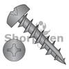 8-11X5/8  Square Phil Drive Pan Deep Thread Wood Screw Full Thread Type 17 Black Oxide Oil (Box Qty 6000)  BC-0810DXP17DB