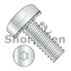 2-56X1/4  Six Lobe Pan Head External Tooth Sems Machine Screw Fully Threaded Zinc and Bake (Box Qty 10000)  BC-0204ETP