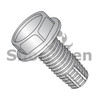 1/4-20X1/2  Unslotted Ind Hex Washer Thread Cutting Screw Type F Full Thread 410 Stainless (Box Qty 1000)  BC-1408FW410