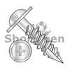 14-12X3  Phillips Round Washer High Low Install Screw Type 17 2/3 Thread Zinc Bake (Box Qty 1200)  BC-1448HPRW17