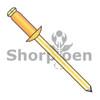 1/8X.18-.25  Copper Rivet With Brass Mandrel (Box Qty 10000)  BC-KDB44