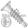 6-20X1 5/8  Phillips Bugle Head Full Thread Self Drilling Drywall Screw Zinc and Bake (Box Qty 5000)  BC-0626KPGZ