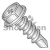 8-18X1/2  Phil Hex washer Full Thread Self Drill Screw Zinc Nickel Bake 1000hours Salt Spray (Box Qty 10000)  BC-0808KPWHC