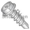 8-18X3/4  Phil Hex washer Full Thread Self Drill Screw Zinc Nickel Bake 1000hours Salt Spray (Box Qty 8000)  BC-0812KPWHC