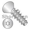 2-28X1/4  6 Lobe Flat Plastite Alternative 48-2 Full Threaded 18 8 Stainless Steel Passivate Wax (Box Qty 5000)  BC-0204LTF188
