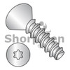 2-28X3/8  6 Lobe Flat Plastite Alternative 48-2 Full Threaded 18 8 Stainless Steel Passivate Wax (Box Qty 5000)  BC-0206LTF188