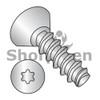 2-28X3/16  6 Lobe Flat Undercut Plastite Alternative 48-2 Full Threaded 18 8 SS Passivate Wax (Box Qty 4000)  BC-0203LTU188