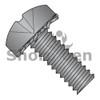 M4X8  ISO 7045 Metric Phillips Pan External Washer Sems M/S Fully Threaded Black Oxide (Box Qty 4000)  BC-MI48EPPB