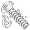 M3-0.5X6  ISO7380 Metric 6 Lobe Button Head Cap Screw Class 10.9 Zinc (Box Qty 10000)  BC-MI36CTB10Z