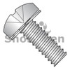 M3-0.5X6  ISO 7045 Phil Pan 304SS Split Washer Sems Machine Screw Full Thread A2 Stainless (Box Qty 3000)  BC-MI36SPPA2