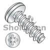 M3-1.5X8  Metric Pozi Pan Plastite/Fix Alternative 45 Degree Full Thread Zinc and Bake (Box Qty 10000)  BC-M38LZP4