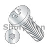 M3-0.5X4  Din 7985 Metric 6 Lobe Pan Head Machine Screw Full Thread Zinc Rohs (Box Qty 10000)  BC-M34MTP