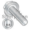 M8-1.25X16  Metric Din 6921 Class 8.8 Indent Hex Flanged Washer Serrated Screw Full Threaded Zinc (Box Qty 1250)  BC-M816MWW8