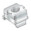 M5 025-063  Metric Cage Nuts Zinc (Box Qty 1000)  BC-M5-025NCAG