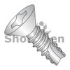 8-18X1/2  Phillips Flat Thread Cutting Screw Type 25 Fully Threaded 18-8 Stainless Steel (Box Qty 5000)  BC-08085PF188
