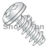 M2-0.89X8  Metric Phillips Pan Head PT Alternative Fully Threaded Zinc & Bake (Box Qty 5000)  BC-M28PTPP